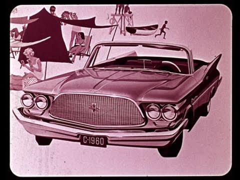1960 Chrysler Vehicle Line Up Dealer Promo Film