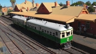 Tin Hares on the Main West - ARE/TRMS Cobar Tour: Australian Trains