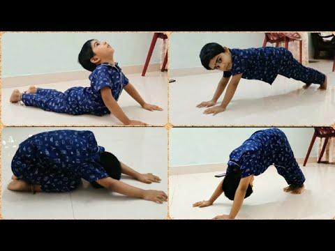 3 year old yoga teacher  yoga for kids  7 simple yoga