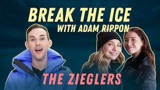 Swizzle Showdown with Maddie & Mackenzie Ziegler Break the Ice with Adam Rippon