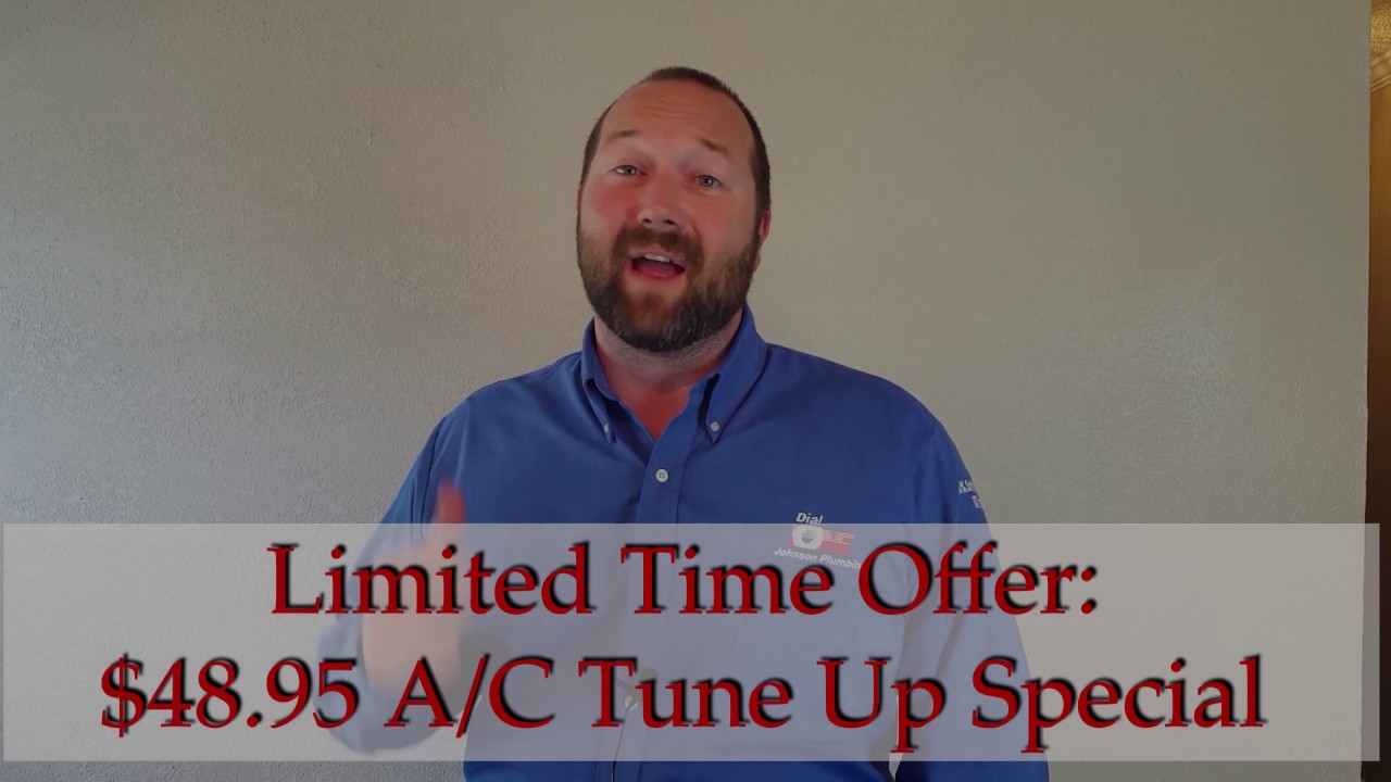 Dial One Johnson Plumbing Ac Tune Up Special 48 95