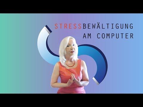 DIE RICHTIGE HALTUNG AM COMPUTER  Stressbewältigung Teil 3
