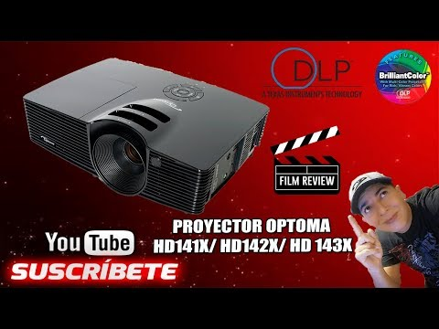 Review Proyector Optoma HD141x DLP