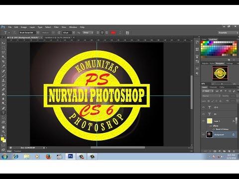 Cara Desain Logo Distro tema Retro dengan Photoshop - Photoshop Tutorial Indonesia.