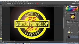 cara membuat logo komunitas dengan photoshop