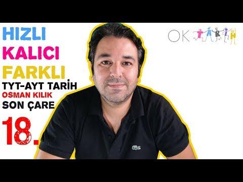 18. Osmanlı Devleti Kültür Ve Medeniyeti / TYT + AYT Tarih 2020 / Osman Kılık SON ÇARE