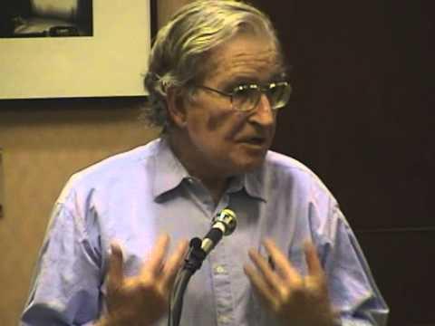 Noam Chomsky Lecture