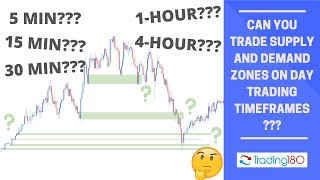CAN YOU TRADE SUṖPLY AND DEMAND ZONES USING DAY TRADING TIMEFRAME???