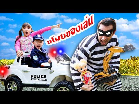 สกายเลอร์ | 🚔 👮 โจรขโมยของเล่นเด็กป่วนเมือง ตำรวจสกายจะจับโจรได้ไหม? ลุ้นกัน! ละครสั้นสอนใจเด็กๆ
