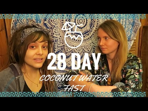Krystal Cooke // 28 Days of Coconut Water Fasting