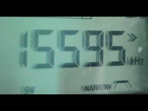 15595 kHz Vatican Radio ( Shortwave band 19 meters )