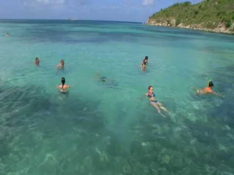 Adventure Antigua Eco Snorkeling Island Tour by boat