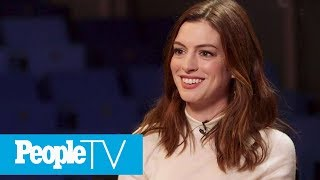 Anne Hathaway Says She Initially Turned Down Hosting The Oscars | PeopleTV | Entertainment Weekly