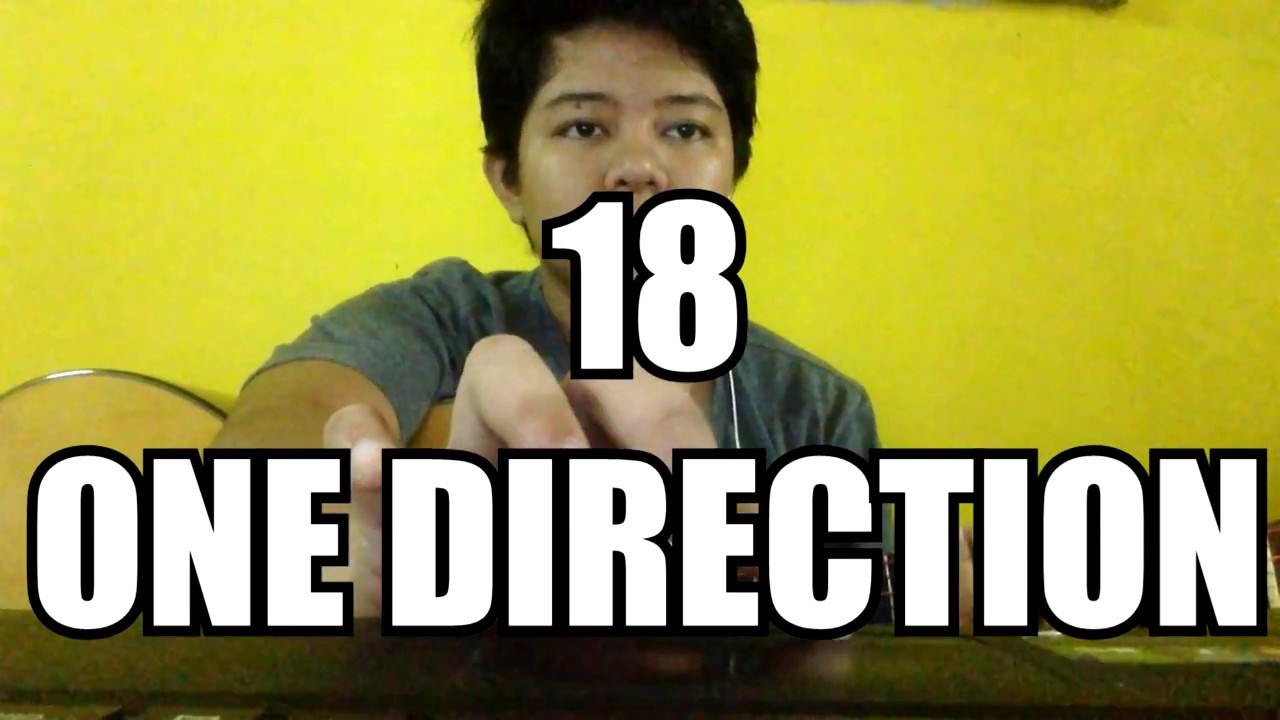 One Direction 18 Guitar Chords Youtube