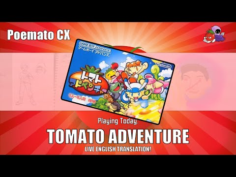 Tomato Adventure Translation #1 - Let's Translate This Game Live!