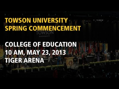 College of Education, Spring Commencement