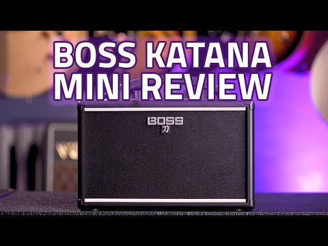 BOSS Katana Mini Amplifier Review & Demo