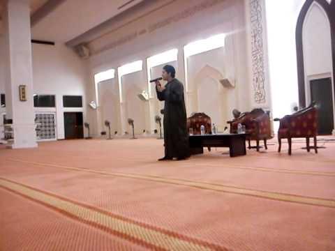 Farid Sanullah Dont Forget Allah(Live @ MTM UiTM SA