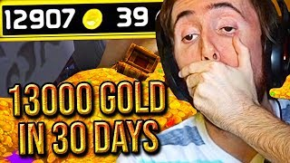 Asmongold Can't Believe Frostadamus Made 13K GOLD In 30 Days - Classic WoW