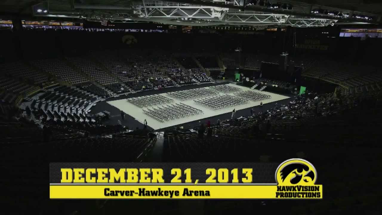 Carver Hawkeye Arena Timelapse December 21 2013 YouTube