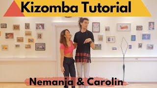 Kizomba Class Vol.4 - Openings \u0026 Direction Change - Nemanja \u0026 Carolin