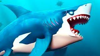 МАЛЕНЬКАЯ ГОЛОДНАЯ АКУЛА Hungry Shark World #1 Новые акулы с Кидом и рыбками в океане