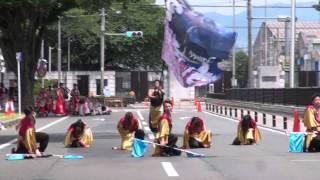 2014/05/24豊川市で開催された、第15回よさこいinおいでん祭での、舞...