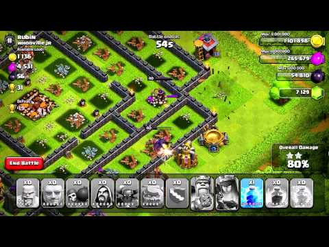 Clash of Clans - Quest to 4000 Trophies #1: Green Light