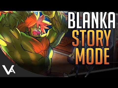 SFV - Blanka Story Mode! All Cutscenes In English/Japanese For Street Fighter 5 Arcade Edition