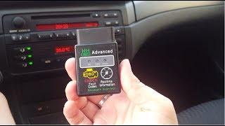 OBDII Bluetooth Adapter Адаптер для читання даних з автомобіля на Android телефон