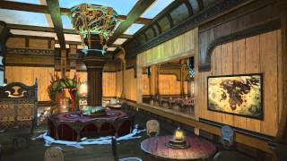 Final Fantasy XIV Online: A Realm Reborn: Station Orchid Free Company Private Mansion