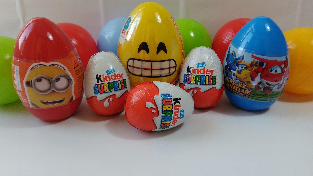 Harika Kanatlar Sürpriz Yumurtaminyonlar Sürpriz Yumurta Izle