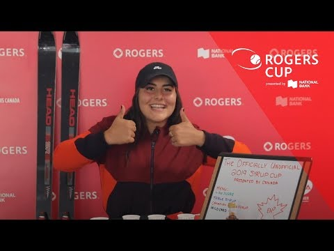 Simona Halep, Bianca Andreescu and more test their taste buds on Canadian maple syrup