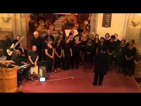 Hope Community Gospel choir - All Saints' Church, Cotgrave, Nottinghamshire - 13th June 2015