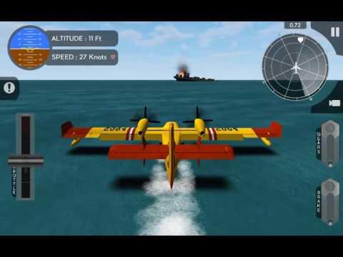 Avion Flight Simulator Canadair CL415 Rescue