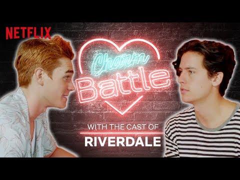 KJ Apa VS Cole Sprouse Charm Battle | Riverdale | Netflix