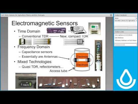 2016 01 14   Soil Water Sensors for Agriculture webinar