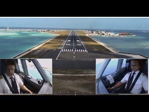airbus-a330---approach-and-landing-in-malé,-maldives-(eng-sub)
