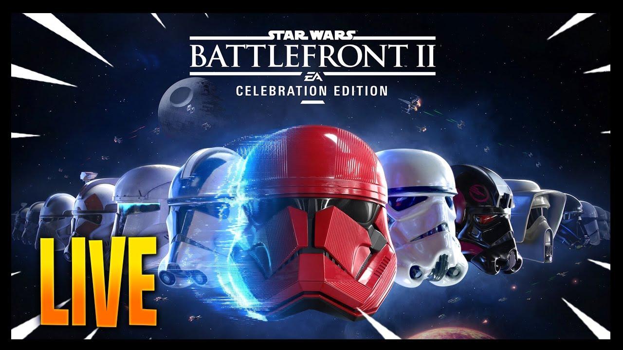 #StarWarsBattlefront - Battlefront 2 Gameplay with @Lofi - Low Fidelity Gaming !! Coffee  + Stream!