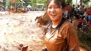 Lucu parah. Balapan Lumpur Tronjal Tronjol || 16 menit ful Nyungsep