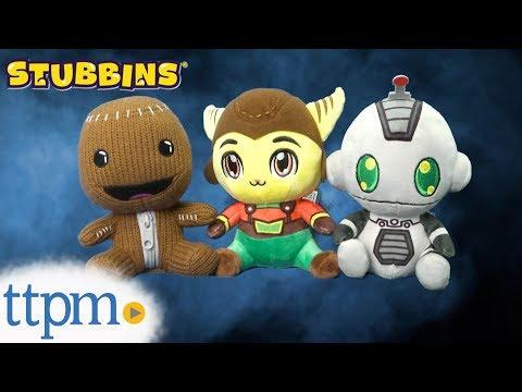 Stubbins Ratchet, Clank, And Sackboy Plush From Innex, Inc.