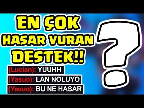 OYUN SONU EKRANCILARINA LOL'ÜN EN ÇOK HASAR VURAN DESTEĞİ!! BRONZ'DA SUPPORT!! | Barış Can