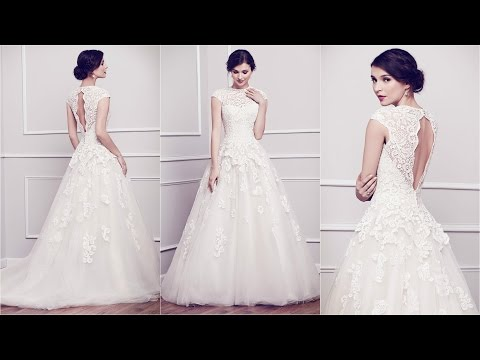 Bridal Dresses | Vera Wang | Cheap Wedding Dresses | Lace Wedding Dress | WD69