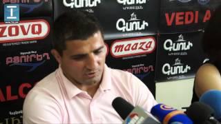 Արմեն Նազարյանը հանդիպեց լրագրողների հետ