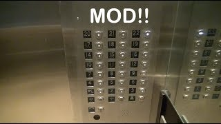 Westinghouse mod by Midwest elevator at the Hilton Ballpark West St  Louis MO