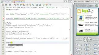Creating a mobile application in PHP