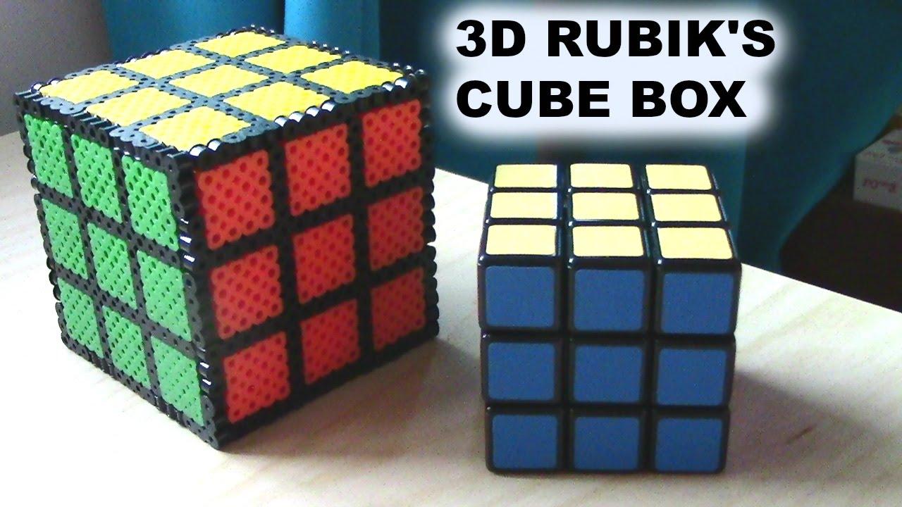 Cube Fuse Box Nissan 3d Perler Bead Rubik S Youtube 2011 Location 2010