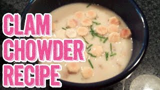 Easy Copycat Red Lobster New England Clam Chowder Recipe
