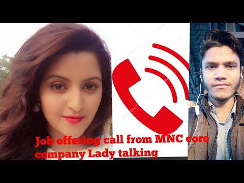Fraud Job Offering Call From MNC Core Company Lady HR Listen Till End