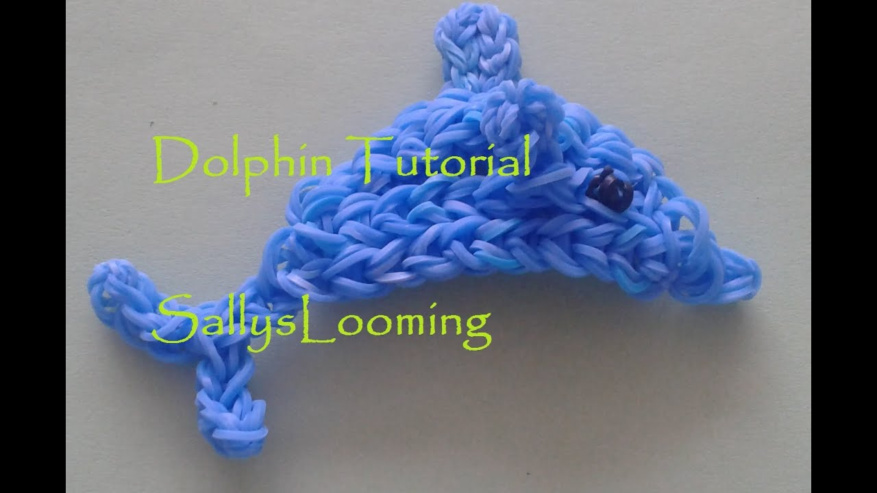 Rainbow loom dolphin - photo#31
